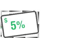 5% Card